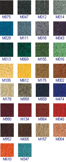 Monotone Mats - Colours